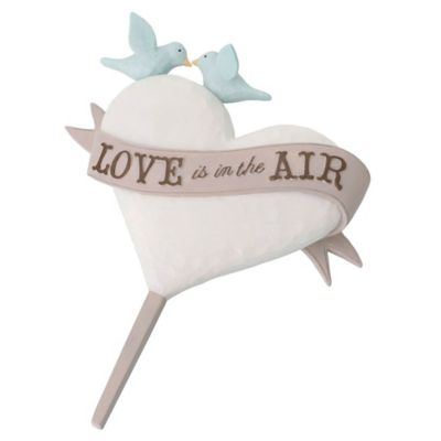 "Lillian Rose™ ""Love is in the Air"" Cake Topper"