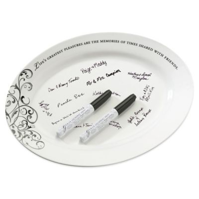 Ceramic White Plates
