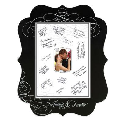 Lillian Rose™ Chalkboard Signing Frame