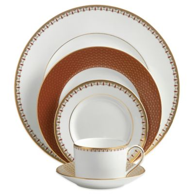Waterford® Lismore Diamond Cinnabar 5-Piece Place Setting