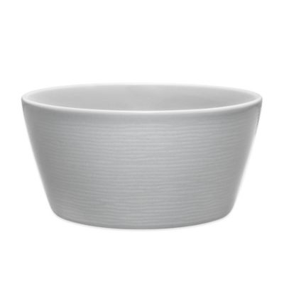 Gray Soup Cereal Bowl
