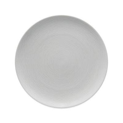 Noritake® Swirl Grey on Grey Coupe Dinner Plate