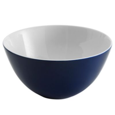 Vera Wang Wedgwood® Simplicity Ombre Serving Bowl in Indigo