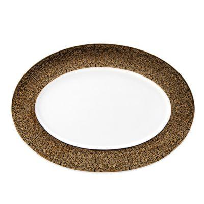 Mikasa® Antonia Gold Oval Platter