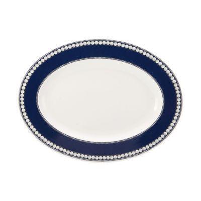 Cobalt Oval Platter