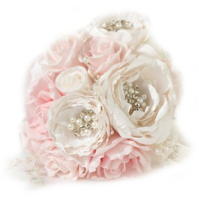 Lillian Rose™ Chic & Shabby Bouquet in Blush