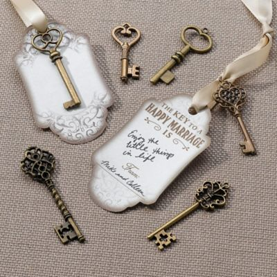Lillian Rose™ Bronze Key Tags (Set of 24)