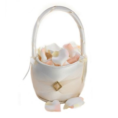 Lillian Rose™ Ivory Diamond Wedding Basket