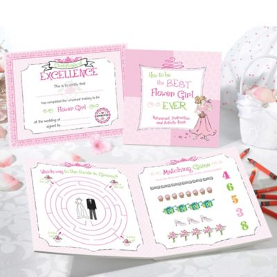 Lillian Rose™ Flower Girl Activity Book
