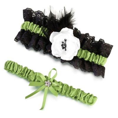Lillian Rose Garter Set
