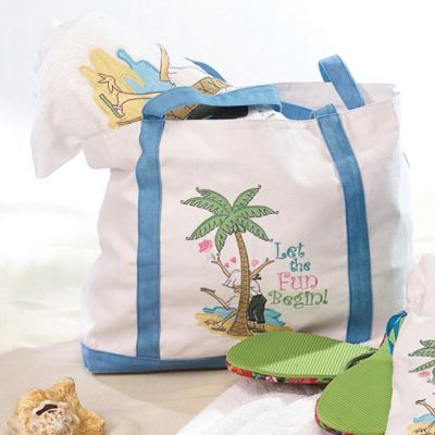 Lillian Rose™ Flip-Flop Love Beach Bag