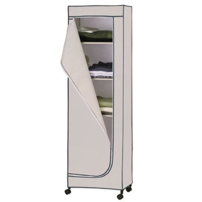 Organize-It-All Neu Home 65-Inch Storage Tower with Shelves