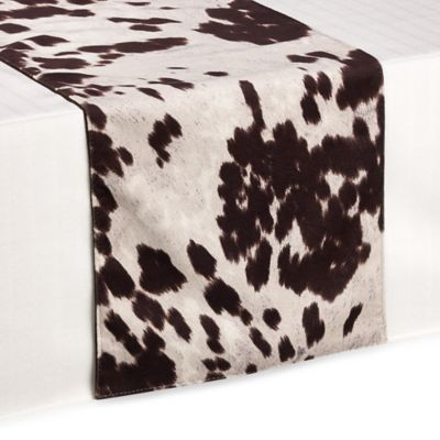 Santana 90-Inch Table Runner in Chocolate