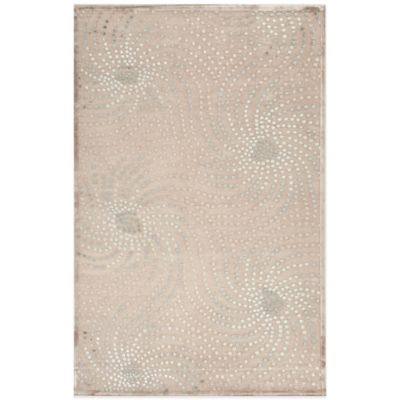 Jaipur Fables Whimsical 5-Foot x 7-Foot 6-Inch Area Rug Ivory/Blue
