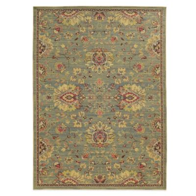 Tommy Bahama® Cabana Collection Traditional Green 7-Foot 10-Inch x 10-Foot 10-Inch Rug