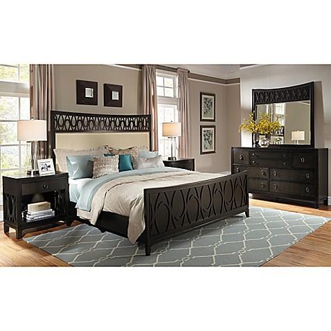 Buy pulaski aura queen 4 piece bedroom set in chocolate for Ash bedroom furniture