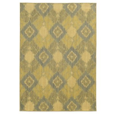 Tommy Bahama® Cabana Collection Ikat Green 5-Foot 3-Inch x 7-Foot 6-Inch Rug