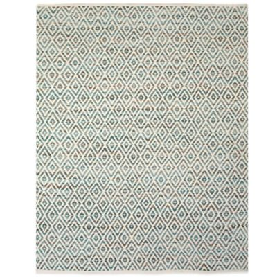 Feizy Diamond 8-Foot x 11-Foot Rug in Red