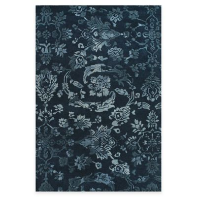 Feizy Beloha 3-Foot 6-Inch x 5-Foot 6-Inch Rug in Navy