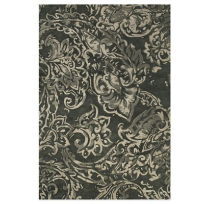 Feizy Beloha 3-Foot 6-Inch x 5-Foot 6-Inch Rug in Ivory/Grey