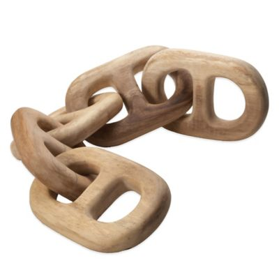Dimond Home Hand Carved 5-Link Chain Link