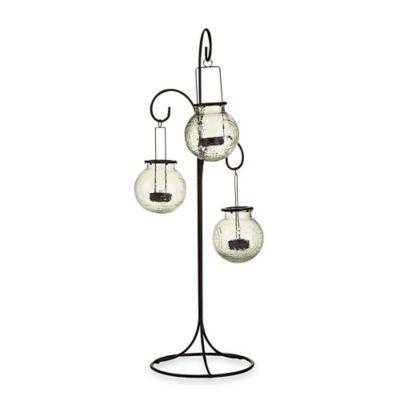 Jasmine Standing Hanging Lantern (Set of 3)