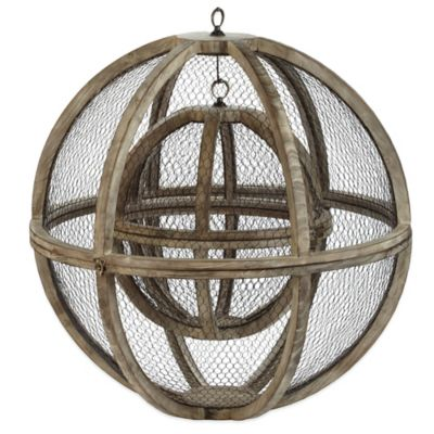 Dimond Home Wire Atlas Spheres (Set of 2)