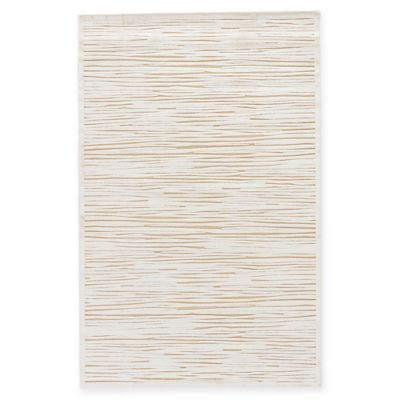 Jaipur Fables Linea 7-Foot 6-Inch x 9-Foot 6-Inch Area Rug in Ivory/Taupe