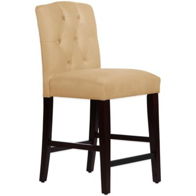 Beige Counter Stool