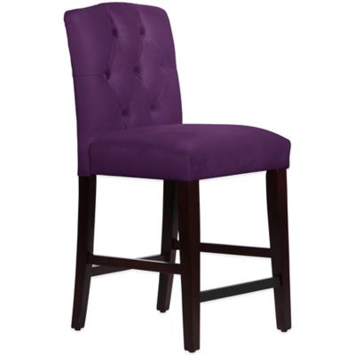 Purple Counter Stool