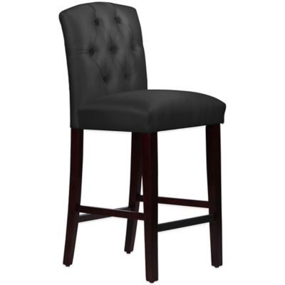 Black Arched Barstool