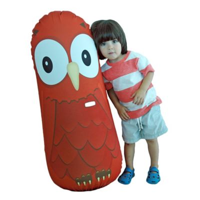 Eco-Bonk Emma Owl Plush Bopper Toy