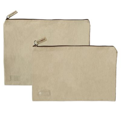Real Simple® Medium Canvas Storage Pouch