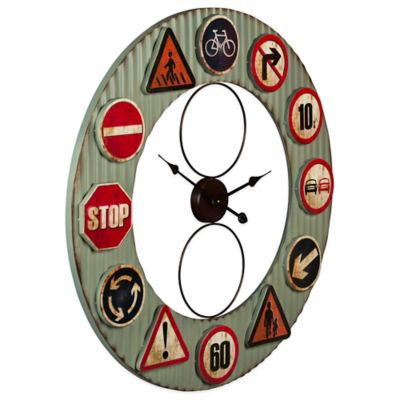 Travelers Wall Clock