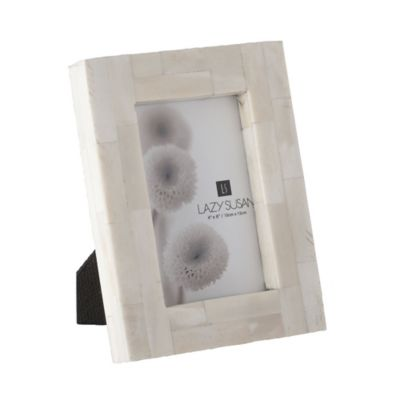 Dimond Home Bone Block 4-Inch x 6-Inch Picture Frame