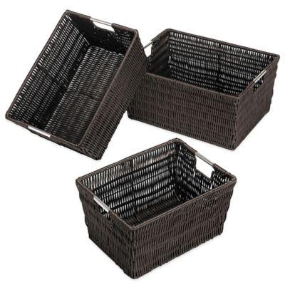 Espresso Storage Baskets