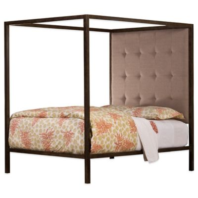 Hillsdale King's Way King Bed with Canopy and Rails