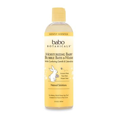 Babo Botanicals® 13.5 oz Moisturizing Baby Bubble Bath & Wash in Oatmilk Calendula