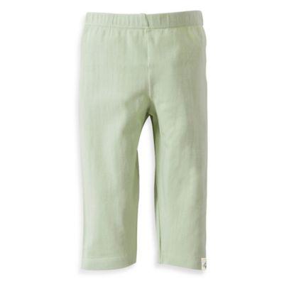 Burt's Bees Baby® Size 6-9M Organic Cotton Capri Legging in Light Green