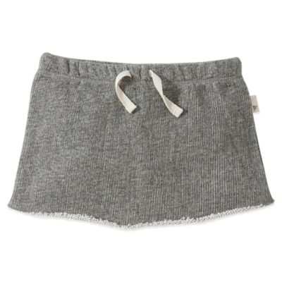 Burt's Bees Baby™ Size 18M Organic Cotton Loose Terry Skort in Grey