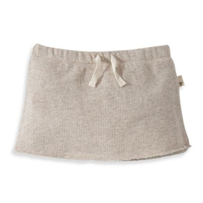 Burt's Bees Baby™ Organic Cotton Loose Terry Skort in Oatmeal