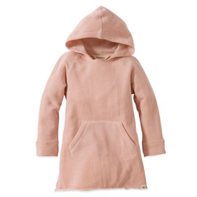 Burt's Bees Baby™ Size 2T Organic Cotton Loose Terry Dress in Pink