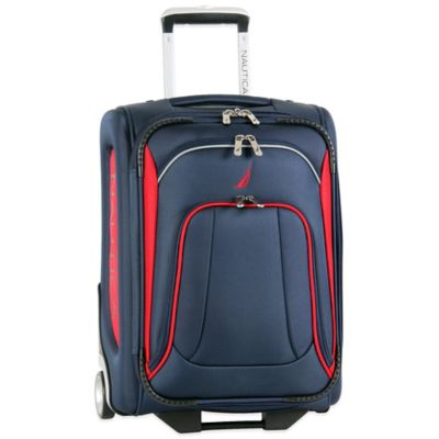 Nautica® Charter 20-Inch Expandable Upright in Navy/Red