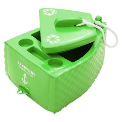 Super Soft® S.S. Goodlife Floating Cooler in Kool Lime Green