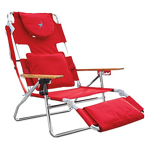 Ostrich 3 In 1 Deluxe Beach Chair Www Bedbathandbeyond Com
