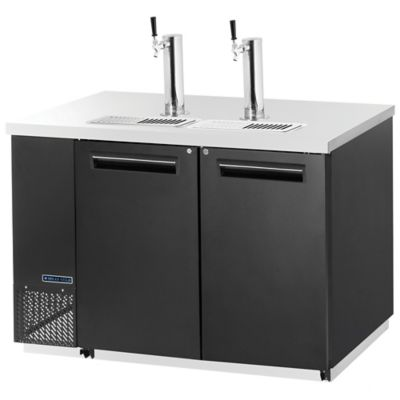 Maxx Cold Double Keg Back Bar Cooler