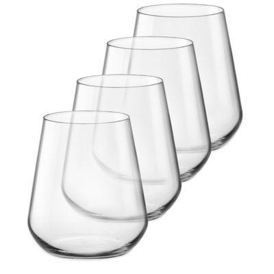 Bormioli Electra 15-1/4 oz. Stemless Wine Glasses (Set of 4)