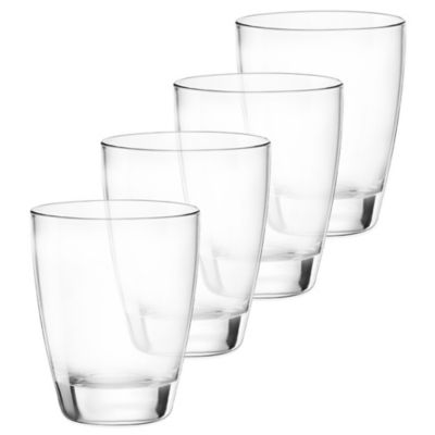 Bormioli Electra Double Old Fashion Glasses (Set of 4)