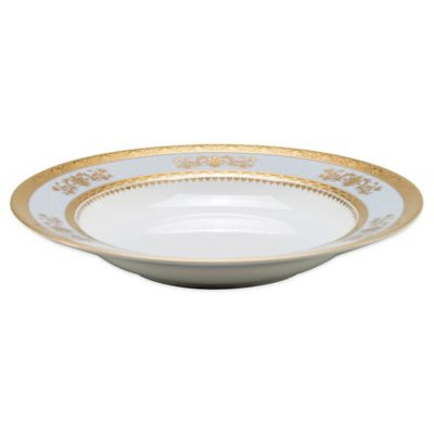 Philippe Deshoulieres Orsay Rim Soup Bowl in Powder Blue