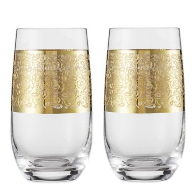 Carezza Tumbler Tall Glasses (Set of 2)